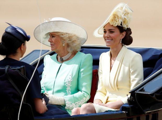 Kate Middleton le gana la partida a Meghan Markle en su reaparición