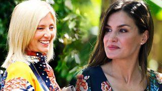 El giro inesperado en el cara a cara de la reina Letizia y Marie Chantal