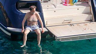 GALERÍA: Todo lo que no se ha visto de las vacaciones de Mariano Rajoy en las Pitiusas / Gtres