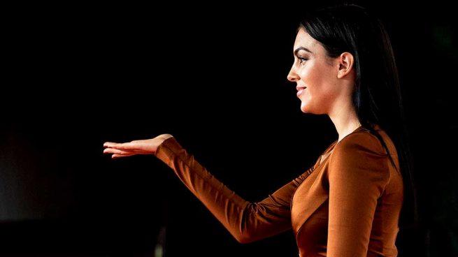 Georgina Rodríguez en la Gala Cáncer Ball