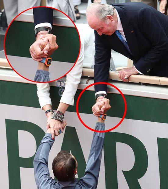 La exclusiva conexión entre el rey Juan Carlos y Rafa Nadal que pasó desapercibida en Roland Garros