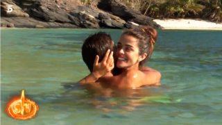 Fabio y Violeta, en el agua / Mediaset