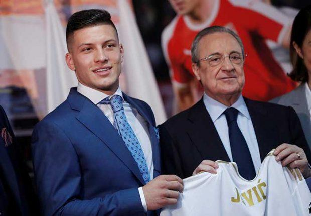 Así es el imponente físico de Luka Jovic, el nuevo fichaje del Real Madrid