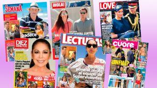 Estas son las revistas del quiosco de este 12 de junio / Fotomontaje Look