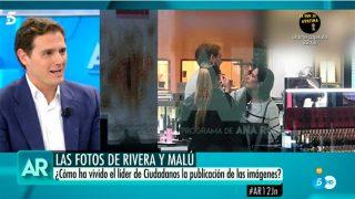Albert Rivera habla sobre sus fotos con Malú / Mediaset