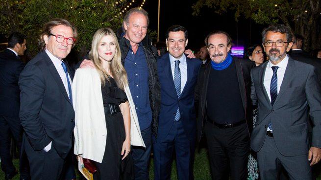 Bertín Osborne se rodea de buenos amigos en su noche más especial y solidaria
