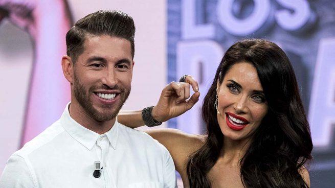 Pilar Rubio y Sergio Ramos en una imagen de archivo /Gtres