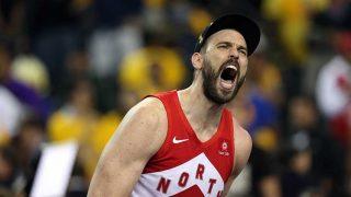 Marc Gasol celebrando su NBA con los Toronto Raptors / Gtres.
