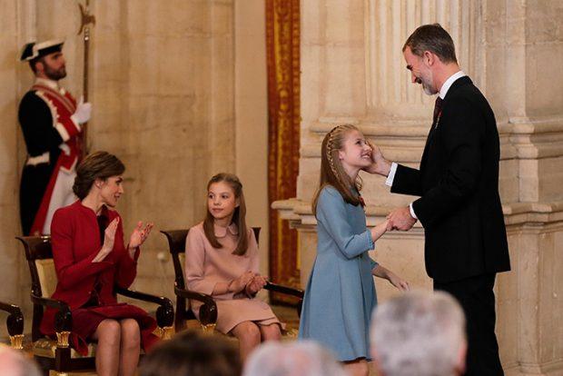 La princesa Leonor debutará en los Premios Princesa de Asturias