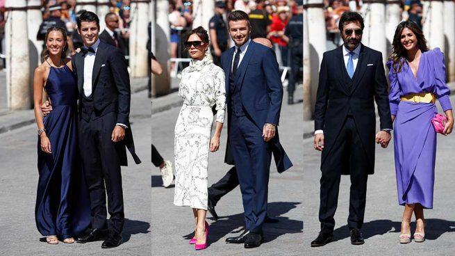 Los invitados de la boda de Sergio Ramos y Pilar Rubio llenan Sevilla de glamour