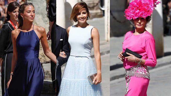 mejor vestidas boda pilar rubio