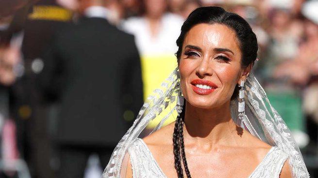 EN IMÁGENES   Pilar Rubio no decepciona con su look nupcial