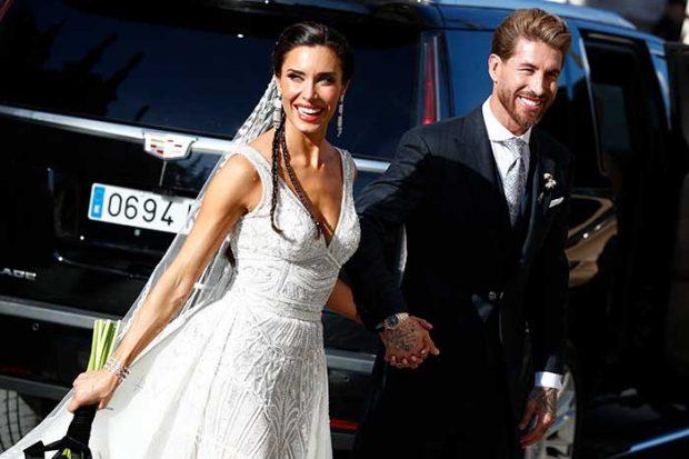 Los cinco detalles que han marcado la gran boda de Pilar Rubio y Sergio Ramos