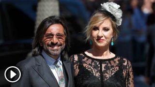 Mariola Orellana quiso 'cortar las alas' a Antonio Carmona en la boda de Sergio Ramos y Pilar Rubio / Gtres