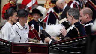 Los reyes de España, Letizia y Felipe, junto a los duques de Cambridge, Kate y Guillermo/ Gtres