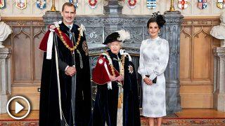 Letizia, reina 'british' con sabor sevillano en su duelo con Máxima de Holanda / Gtres