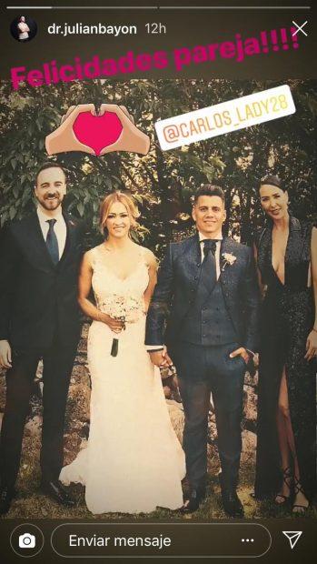 Exclusiva: Vania Millán no acudió a la boda de Pilar Rubio y Sergio Ramos