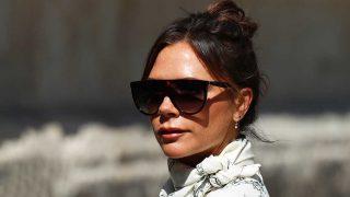 Victoria Beckham durante la boda del año en Sevilla / Gtres