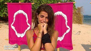 Violeta, en una imagen de archivo, entró por teléfono para tranquilizar a su familia y a la audienca./Mediaset