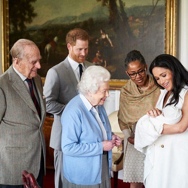 principe Harry, Meghan Markle,Isabel II, Felipe de Edimburgo