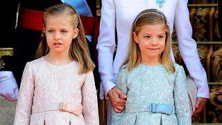 GALERÍA: Así han cambiado la princesa Leonor y la infanta Sofía / Gtres