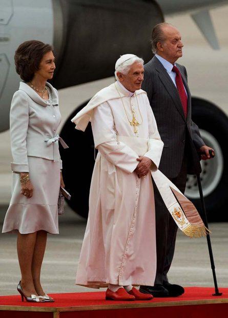 reyes papa benedicto