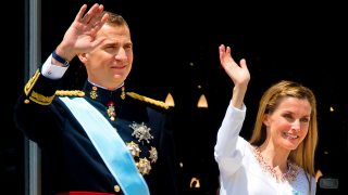 Los reyes don Felipe y doña Letizia el día de la proclamación / Gtres
