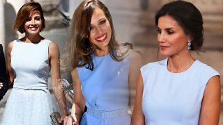 Virginia Troconis, Eva González y la reina Letizia. / Gtres