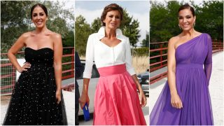 Accede a la galería de imágenes de los invitados de la boda de Belén Esteban y Miguel Marcos / Gtres.