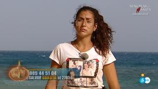Dakota se ha enfrentado a Mónica Hoyos./Mediaset