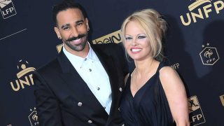 Pamela Anderson y su novio, Adil Rami  / Gtres