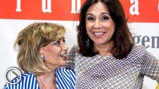 María Teresa Campos e Isabel Gemio, en un acto juntas / Gtres