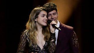 Amaia y Alfred durante su paso por Eurovisión / Gtres