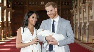 Meghan Markle, el príncipe Harry y Archie Harrison Mountbatten-Windsor / Gtres.