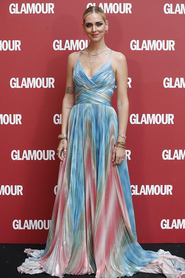 Chiara Ferragni durante la fiesta de Glamour / GTRES