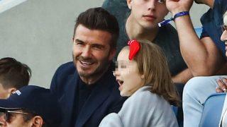 David Beckham ha disfrutado de un plan solo para dos con su hija  Harper Beckham / Gtres