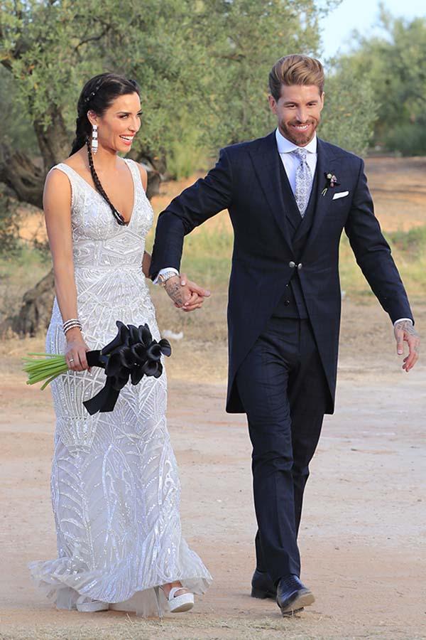 Pilar Rubio el día de su boda con Pilar Rubio / GTRES