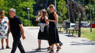Las imágenes de la misa funeral de la hermana de Susanna Griso / Gtres.