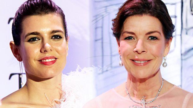 Carlota Casiraghi y Carolina de Mónaco