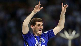 Iker Casillas, durante un partido con el Oporto / Gtres
