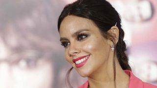 La presentadora Cristina Pedroche durante la promoción de la película » sin rodeos » en Madrid (Foto: Gtres)