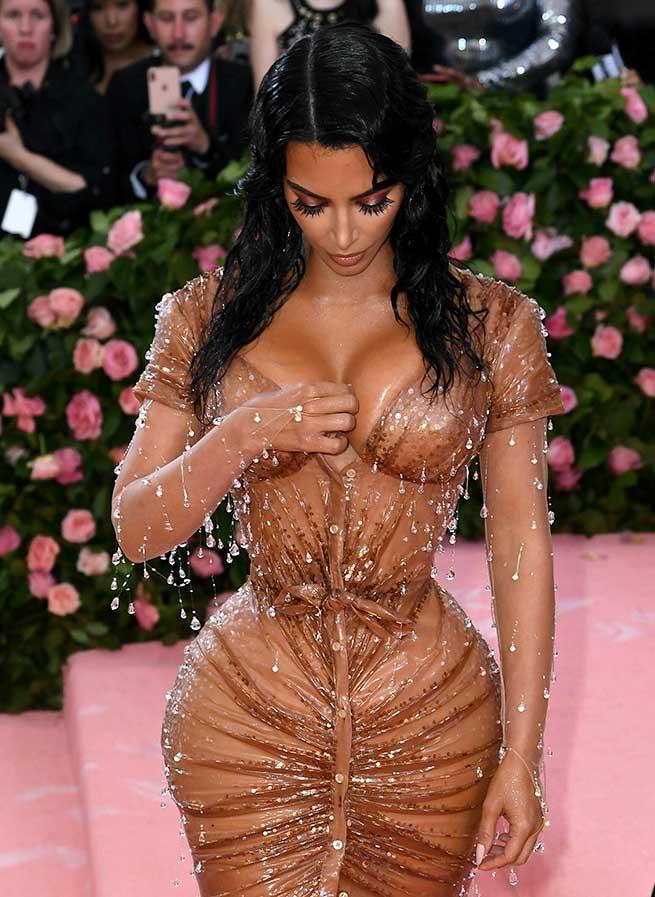 kim kardashian met faja