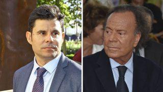 Julio Iglesias y Javier Sánchez en una imagen de archivo /Gtres