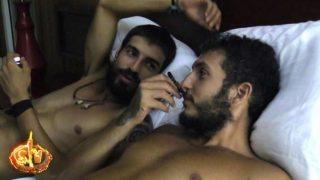 Omar Montes le ha confesado a Fabio su amor por Isa Pantoja./Mediaset