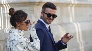 David Beckham y Victoria, en una imagen reciente / Gtres.