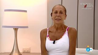 Isabel Pantoja, desolada por abandonar el programa./Mediaset
