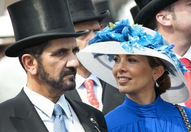La esposa del gobernante de Dubai pide protección