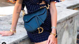 Chiara Ferragni es una de las famosas que tienen el Saddle Bag de Dior / Instagram |chiaraferragni