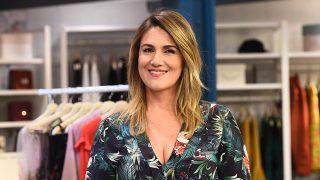 Carlota Corredera ha zanjado la polémica sobre el vestido que llevó a la boda de Belén Esteban  / Gtres