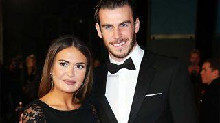 Gareth Bale y Emma Rhys-Jones en 2015 / Gtres